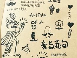 【I Tict Artiste】老艺人烘焙面包店VI设计