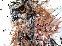 《夜头鹰》系列——泼墨