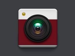 icon相机-扁平化&半写实设计