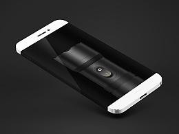临摹MIUI手电筒,附Android体验安装包、PSD文件。