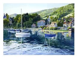 水彩风景绘制步骤图
