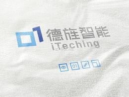 一个vr行业的logo设计:德旌智能
