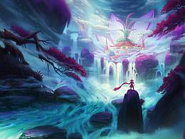 《奇异岛》之三《水莲宫》