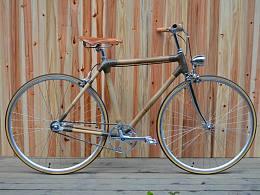 竹子自行车复古自行车Simple Bikes  竹子车架 竹木城市自行车