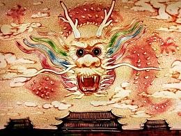 纪念抗战胜利70周年阅兵《醒狮》沙画 觉醒的中国