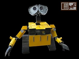 金属诱惑机器人总动员——瓦力机器人
