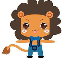 去年的卡通设计-小狮子