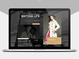 欧美高端女装网页练习(2)