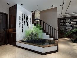 总部经济园私人办公室-新中式