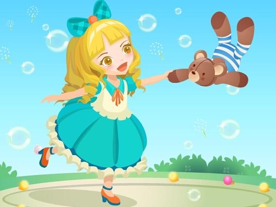 请问洋娃娃和小熊跳舞左手怎样伴奏图片