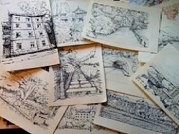 建筑,场景手稿