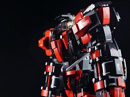 "【GS的MOC】重型近战型机甲""拔火罐"""