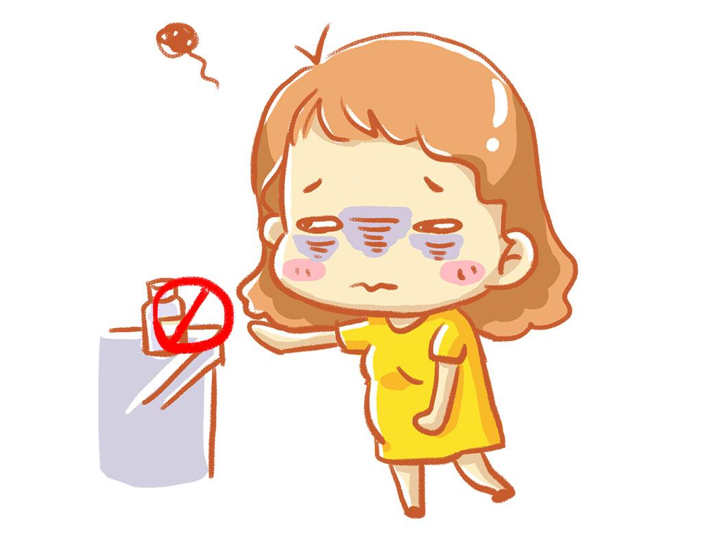 原创亲子育儿科普漫画《孕妇有病不吃药,影响可能更严重》