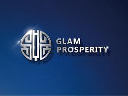 盛世华韵 GLAM PROSPERITY 文化产业投资机构 logo  厦门vi设计