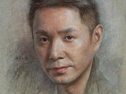 彩铅人物-演员郭广平