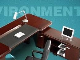 办公家具的广告 是可以做的不土