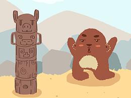 熊猴子系列-新设定-槑有人20161214正式更名