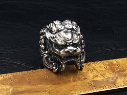 唐狮大圣一念之间重制缩小版斯巴达头盔招财金蟾铸银终于完工