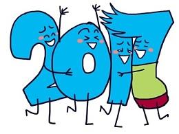 你好2017!希望和你一起变得更好!