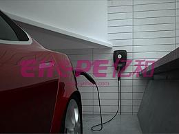 新能源电动汽车充电桩产品三维动画制作