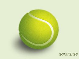 跟教程做的网球