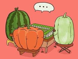 蔬果们的七七八八 又一季!