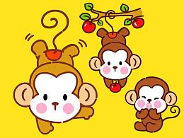 调皮猴—猴年吉祥物