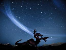 2013年 英仙座流星雨 克拉玛依魔鬼城实录