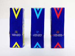 Perfume TOTEM KENZO, Packaging KENZO图腾香水包装设计