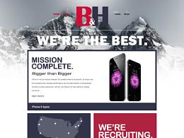 B&H页面