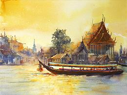 湄南河畔2
