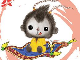 猴年新年的练习