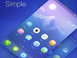 手机主题图标 icon练习