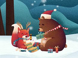 圣诞节平安夜手机端图片