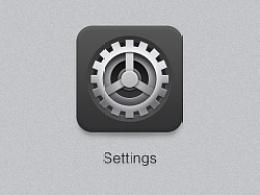 GUI图标练习-3 设置 settings