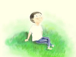 学院奖太阳雨商业插画《快乐》