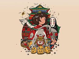 宫崎骏主题—icon设计