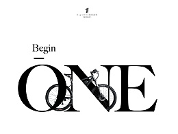 BeginONE字母创意海报