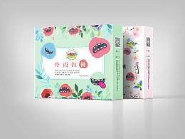 桃子包装设计