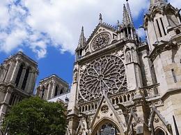 巴黎圣母院和米兰大教堂