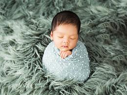 超可爱的新生儿