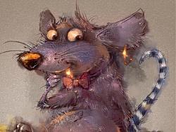 《十二生肖之—鼠》