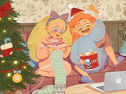 依旧是迟来的圣诞节贺图