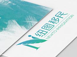 纽图移民logo,项目宣传以及名片.