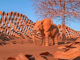 C4D沙漠之美
