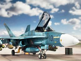 1/72 美軍 F/A-18A 蘇凱蟲