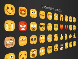 一套类emoji表情