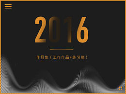 2016作品集(工作作品+练习作品)