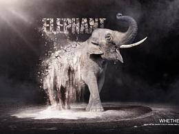致敬作品-沙化 大象篇