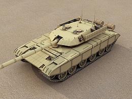 99式坦克 沙漠